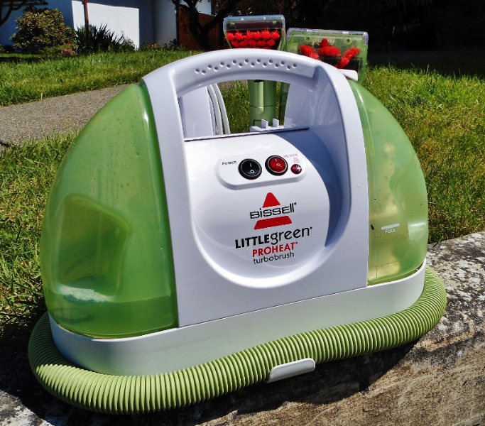 Bissell Little Green Portable Steam Cleaner Review