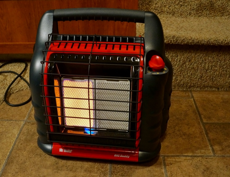 Rv Install And Review Of The Mr Heater Big Buddy Mh18b