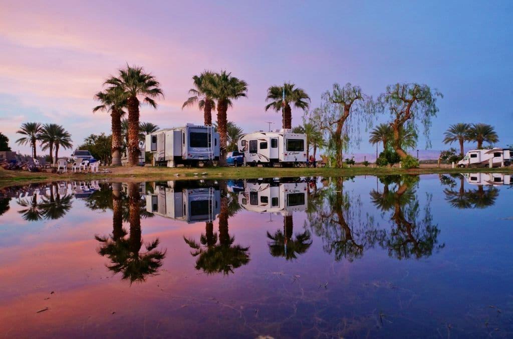 Oasis Palms Rv Resort Near Palm Springs California