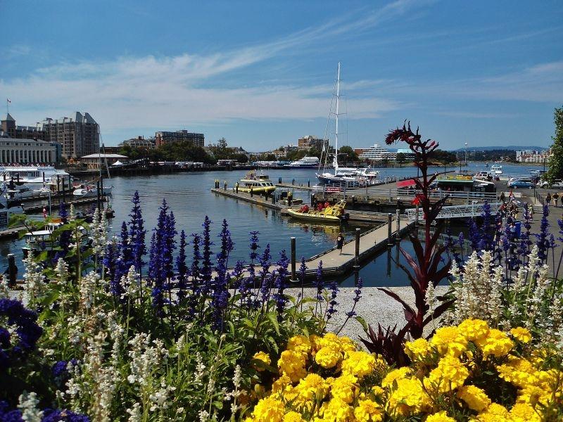 Vancouver Island Rv Trip Victoria S Inner Harbour
