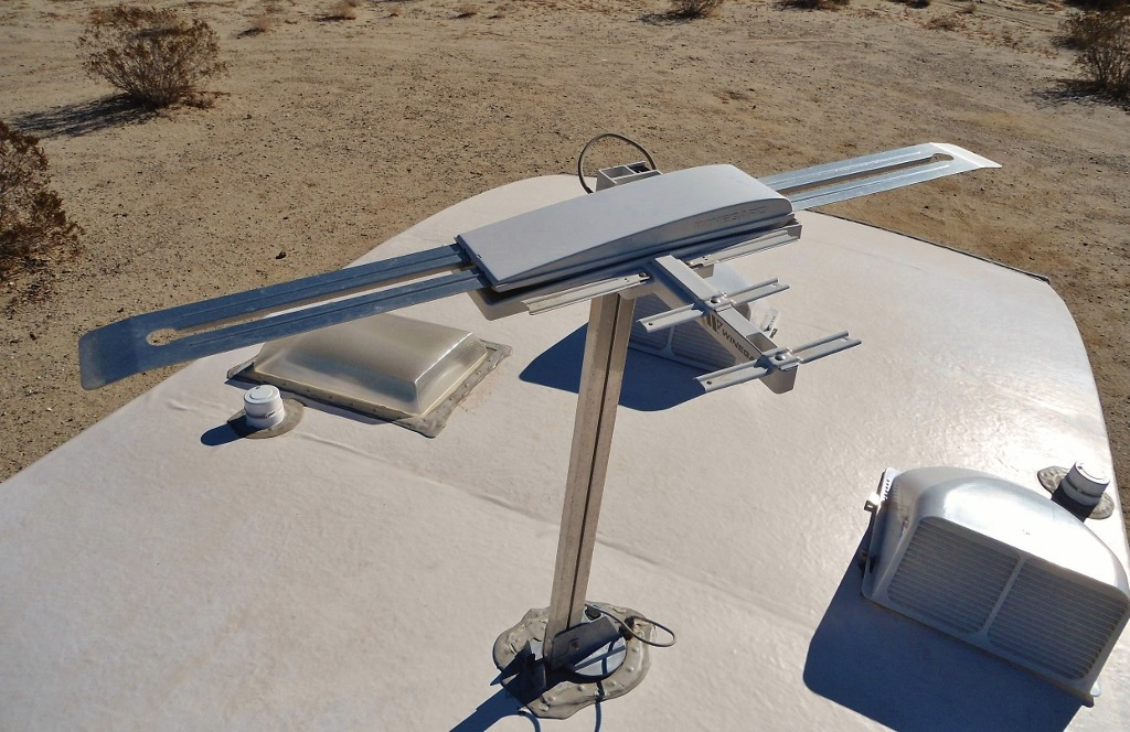 Lubricating The Winegard Batwing Style Rv Tv Antenna