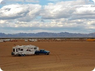 Glamis Flats Dry Camping