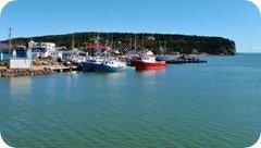Alma Fishing Boat, Bay of Fundy