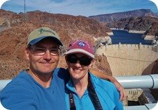 Ray and Anne at Hoover Dam