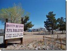 Beatty RV Park, Nevada