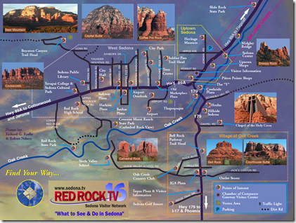 Sedona-Tourist-Map