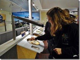 Tillamook Cheese Factory free samples