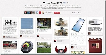 Love Your RV Pinterest Group Board