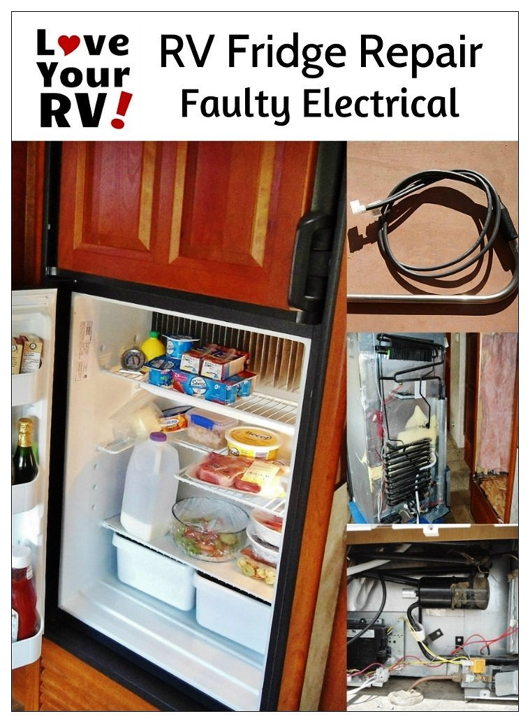 Dometic Fridge Repair - Faulty Electric Heater Element | Love Your RV! - http://www.loveyourrv.com/ #RV #Repairs