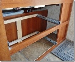 Cubby Hole For Shoes Mod - Drawers Out