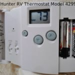 Hunter RV Thermostat Model 42999b - Featured