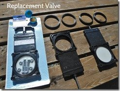 Replacement Waste Tank Valves