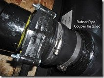 Rubber ABS Pipe Coupler