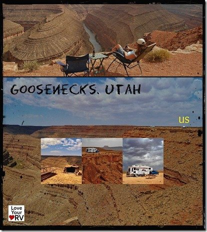 Goosenecks Collage