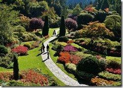 Sunken Garden Walkway