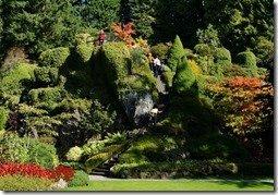 Viewing Mound in Sunken Garden