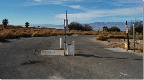 Dump Station located near the visitor center
