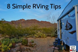 8 More Simple Little RVing Tips from a Fulltime RVer