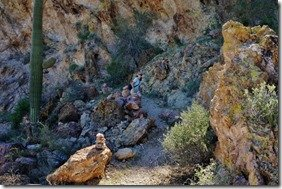 Dripping Springs Hike in Organ Pipe 11