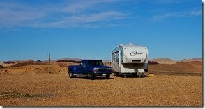 Our Rig Camped At Poverty Flats