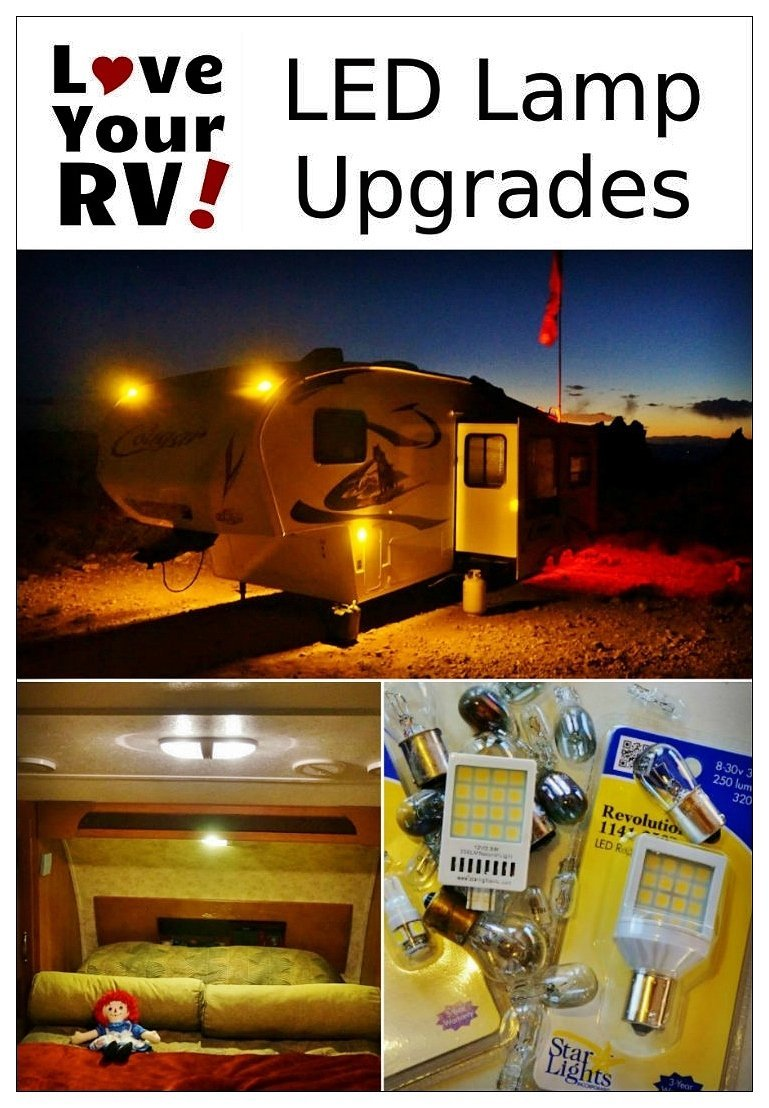 Install And Review Of Starlights Led Lamps For The Rv
