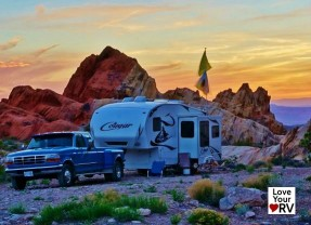 Free Camping at the Whitney Pockets BLM Nevada