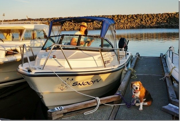 Annes Boat Snoopy