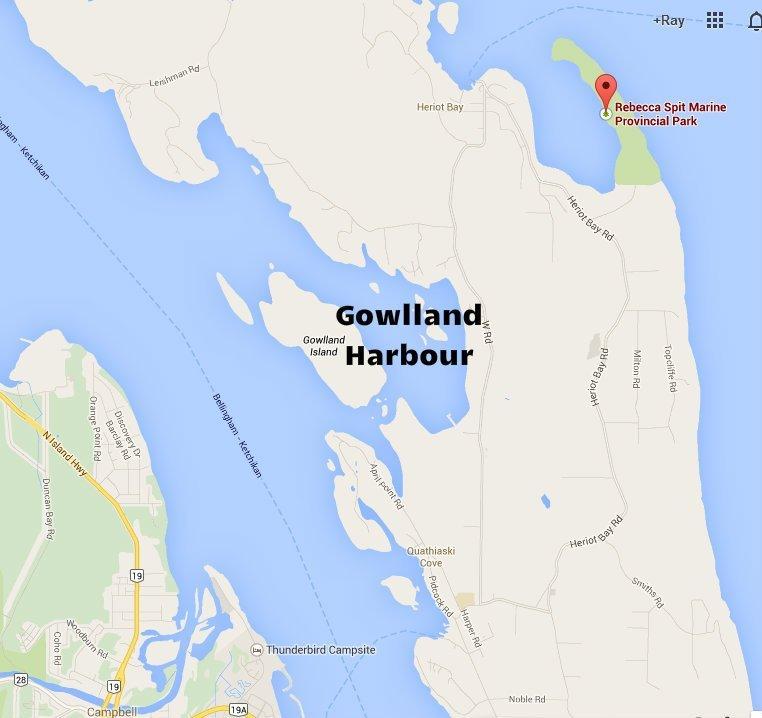 Rebecca Spit Marine Provincial Park