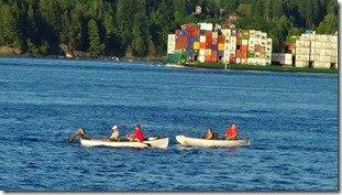 Tyee Club row boat fishing
