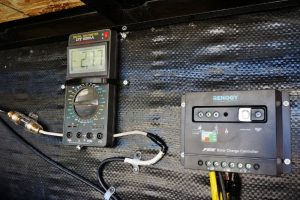 Charge Converter and Amp Meter