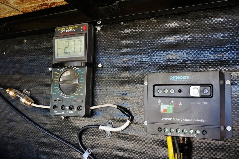Solar Panel Meter : Installing a renogy w solar kit in the rv