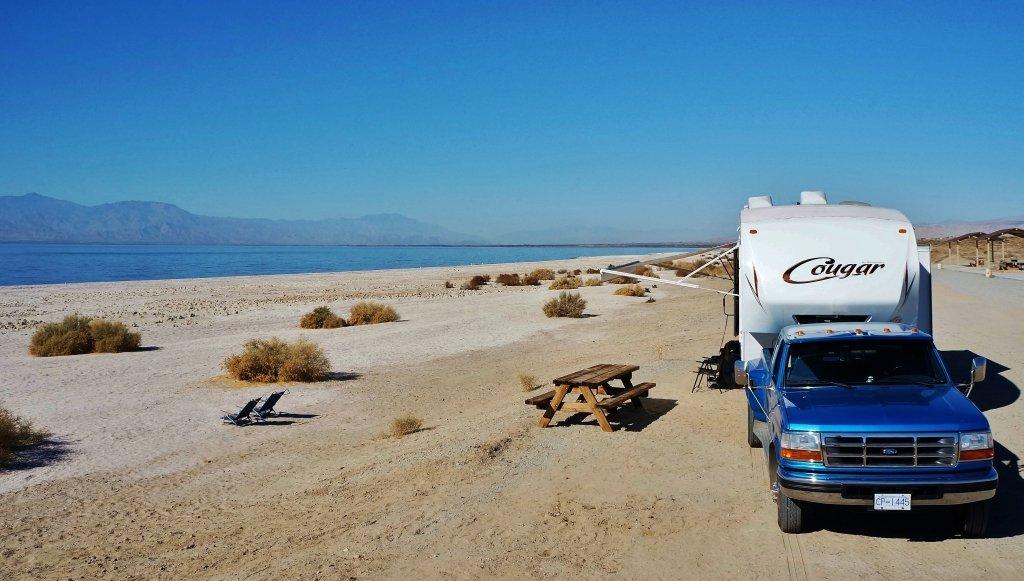 Corvina Beach on the Salton Sea