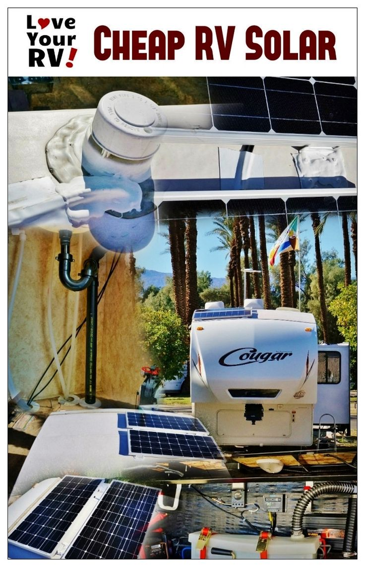 Installing a Renogy 200W Solar Kit in the RV | Love Your RV! howto - http://www.loveyourrv.com/ #RV #Solar