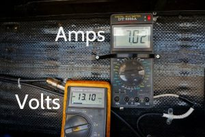 Panel Voltage and Current