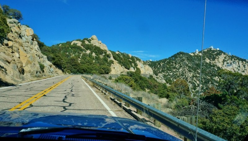 Road to Kitt Peak Observatory