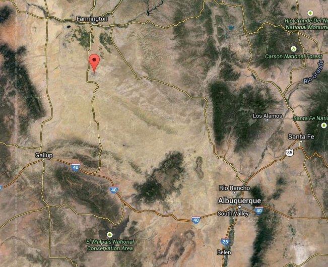 Bisti Badlands   Google Maps