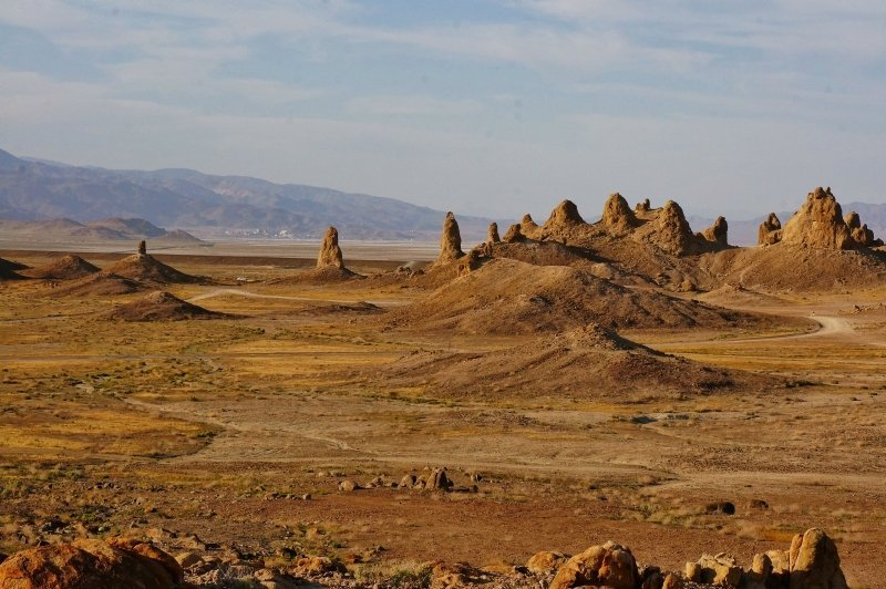 Trona Pinnacles landscape