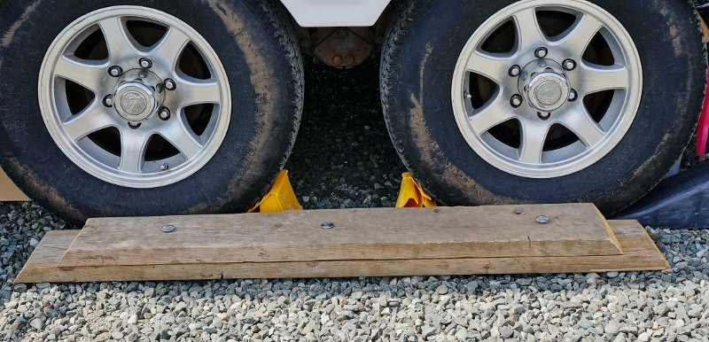 Trailer Leveling Boards