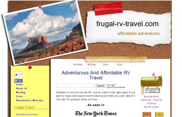 Frugal RV Travel