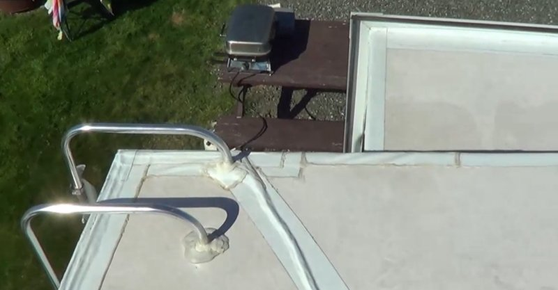 Cougar roof with Eternabond tape