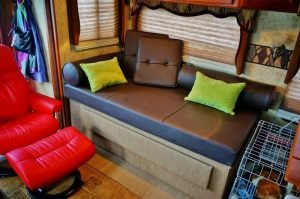 Custom Built RV Daybed