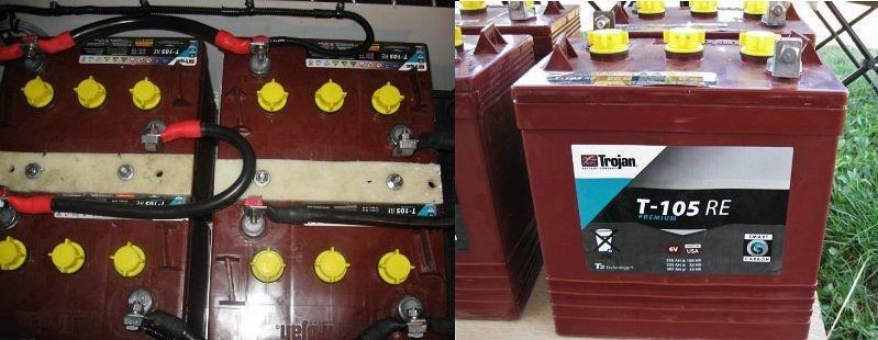 Trojan 6 volt batteries