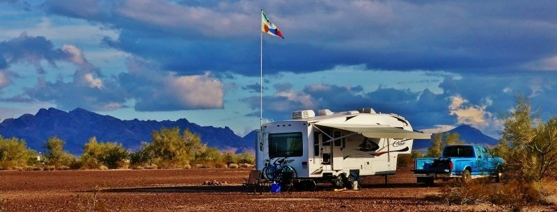 Boondocking in Quartzsite Arizona