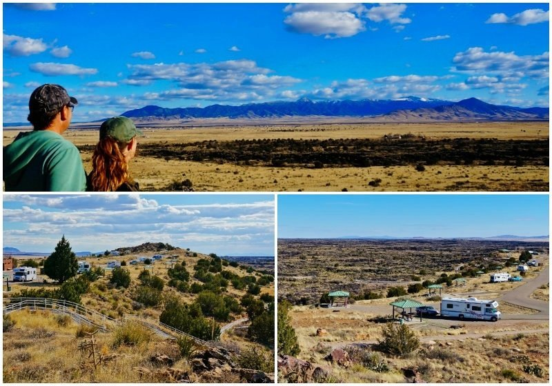 Valley of Fires State Park New Mexico Collage