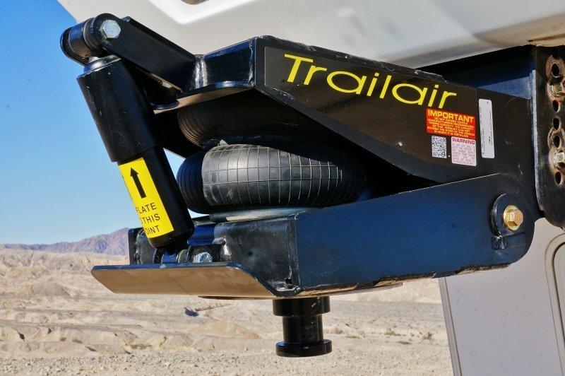 Fifth Wheel Air Ride Suspension : Lippert air ride pin box review and demo
