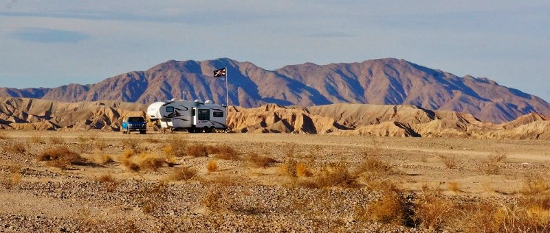 Boondocking with the Air Ride Pin Box
