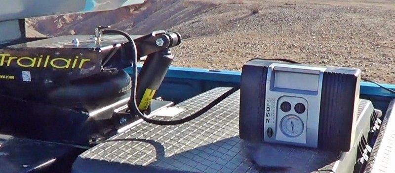 Inflating the Air Ride Pin Box