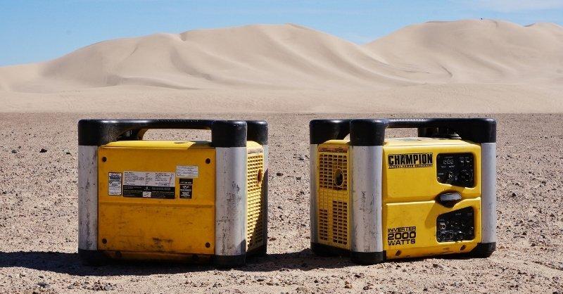 Champion 2000 watt generators