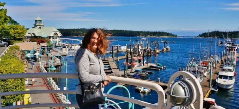 Anne at Nanaimo Boat Basin