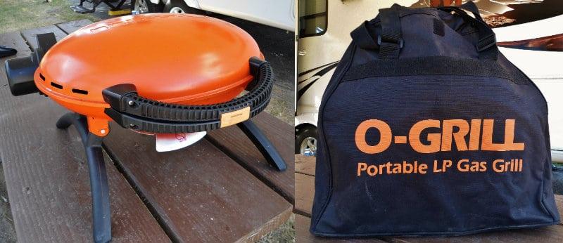 O-Grill and bag